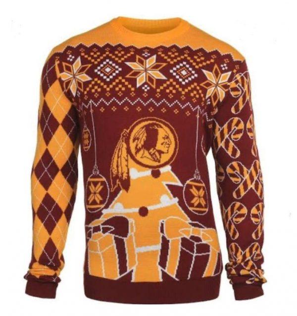 Sweater Navideño Redskins