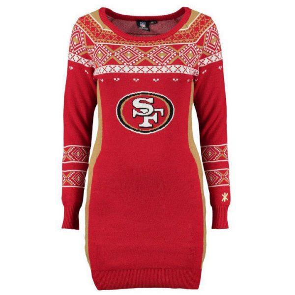 Sweater Navideño Niners